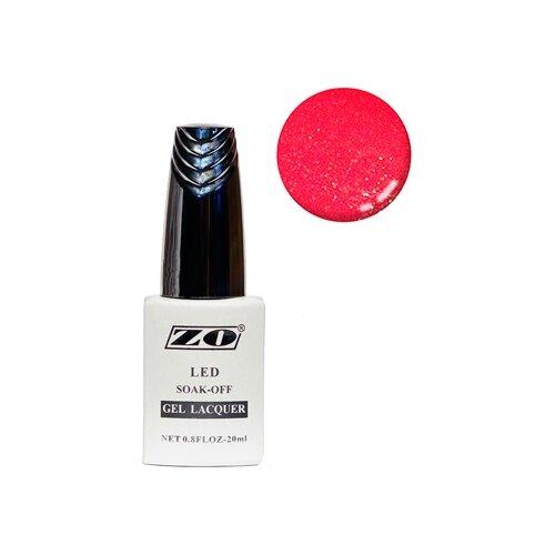 Купить Гель-лак для ногтей ZO GL, 20 мл, 265 ярко-малиновый шиммер