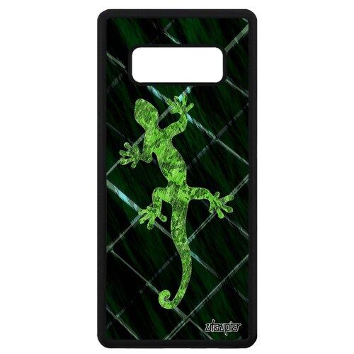 подвески бижутерные aztek амулет защитный змей ёрмунганд Чехол на Samsung Galaxy Note 8, Саламандра Амулет Змей