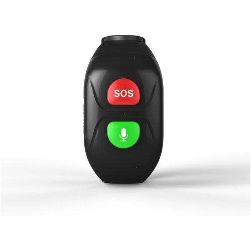 Браслет с кнопкой SOS для пожилых людей GARSline S1 черный