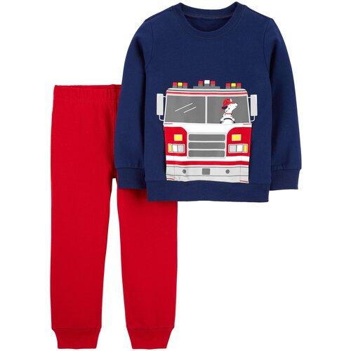 Комплект одежды Carter's размер 3T, темно-синий/красный