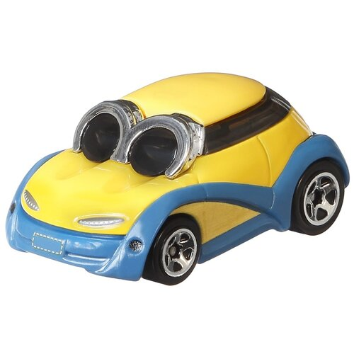 Купить Машинка Hot Wheels Character Cars Minions Bob (GMH74/GMH78) 1:64 желтый, Машинки и техника