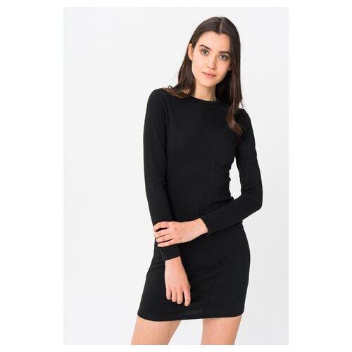 платье only only on380ewcaxr7 Платье ONLY 15191260 женское Цвет Черный Black Однотонный р-р 46 L