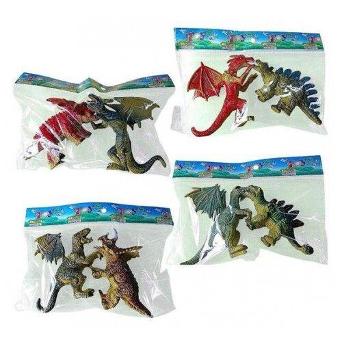 Купить Фигурки Динозавров 2шт. Shantoy Gepay 7001-5, Наша игрушка, Игровые наборы и фигурки