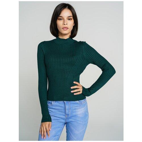 Джемпер ТВОЕ A6521 размер XS, темно-зеленый, WOMEN
