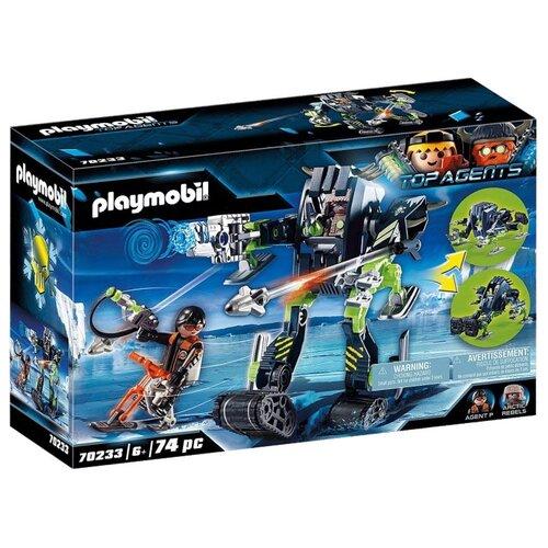 Купить Конструктор Playmobil Top Agents 70233 Ледяной робот Арктических повстанцев, Конструкторы