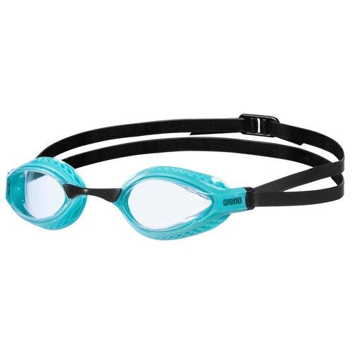 Фото - Очки для плавания arena Airspeed, clear-turquoise очки для плавания arena zoom neoprene 92279 black clear black