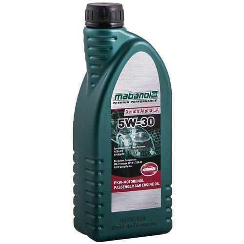 Синтетическое моторное масло Mabanol Xenon Alpha LA 5W-30 1 л