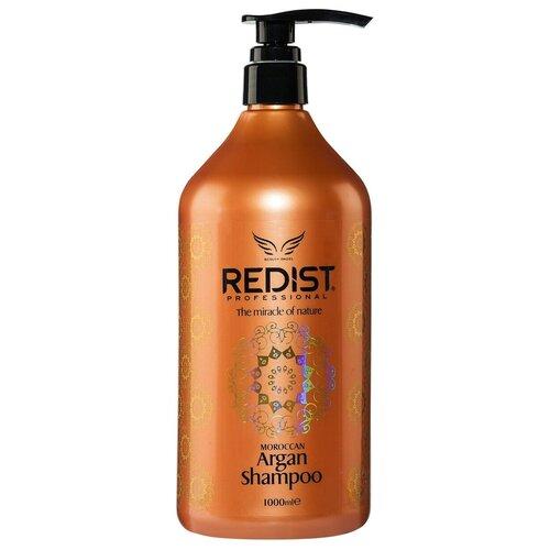 Купить REDIST Professional Восстанавливающий питательный шампунь для волос с аргановым маслом Moroccan Argan Shampoo
