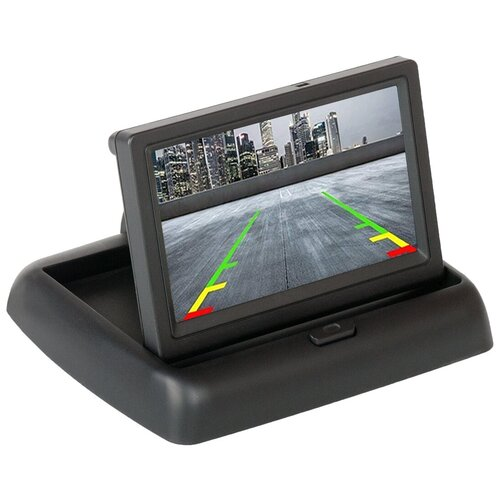Автомобильный монитор Blackview TDM-430 черный