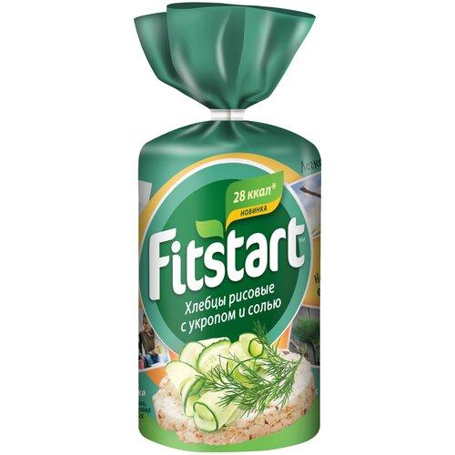 Фото - Хлебцы рисовые Fitstart с укропом и солью 90 г галеты рисовые auchan с кунжутом био 90 г