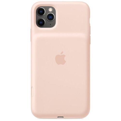 Чехол-аккумулятор Apple Smart Battery Case для Apple iPhone 11 Pro Max розовый песок чехол аккумулятор apple smart battery case для apple iphone 11 pro белый