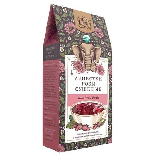 Чайный напиток Золото Индии Лепестки розы сушеные, 30 г