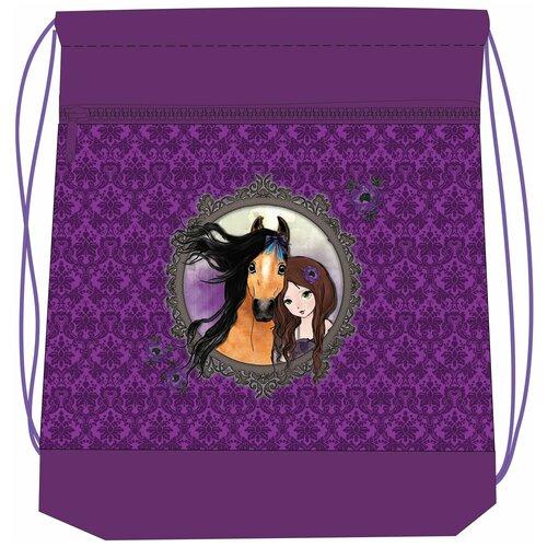 Belmil Мешок-рюкзак для обуви Friends 4ever 336-91/571, фиолетовый мешок для обуви belmil robot