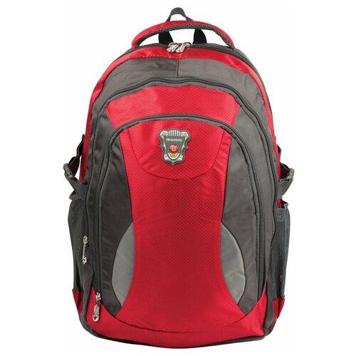 сумка brauberg control 1 серый BRAUBERG Рюкзак StreetBall 1 (224451), серый/красный