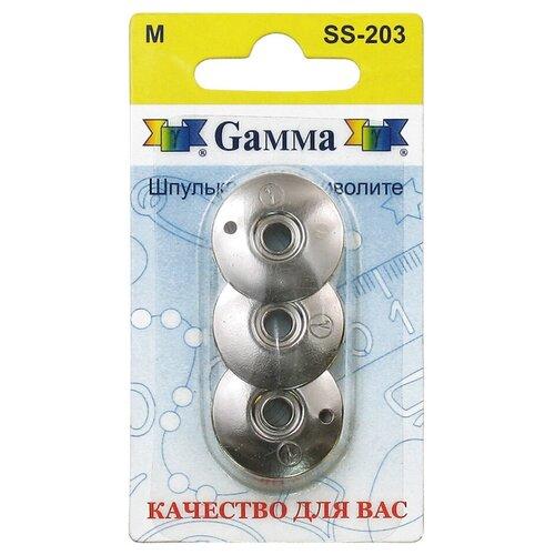 Фото - Шпулька Gamma для фриволите SS-203 серебристый gamma карандаш для кройки ss 017 белый