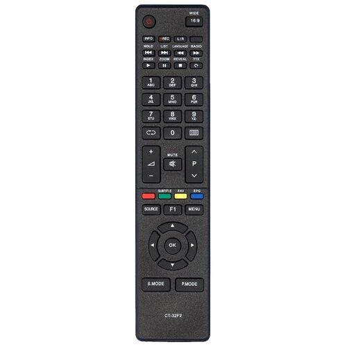 Фото - Пульт Huayu CT-32F2* для телевизора Toshiba пульт huayu ct 90430 для телевизора toshiba