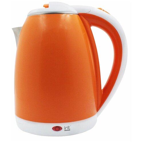 Фото - Чайник irit IR-1233, оранжевый чайник irit ir 1603 белый желтый