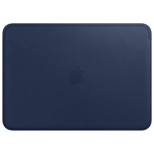 Чехол Apple Leather Sleeve for MacBook 12 Midnight blue