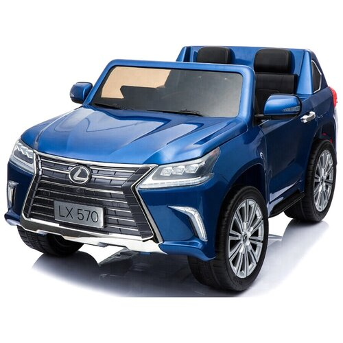 Toyland Автомобиль Lexus LX 570, синий, Электромобили  - купить со скидкой