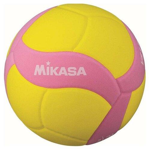 Волейбольный мяч Mikasa VS170W желтый/розовый