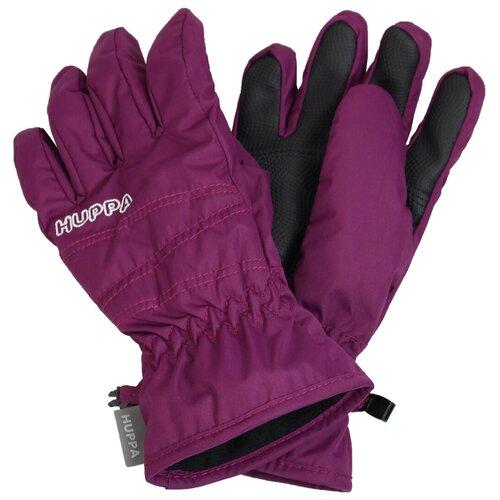 Перчатки Huppa Keran 8215BASE размер 4, burgundy