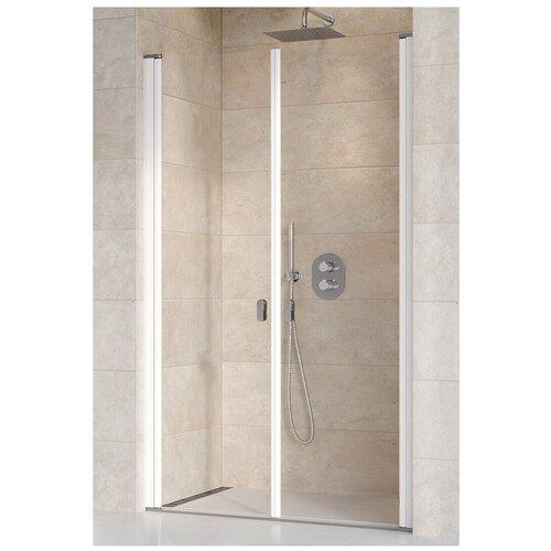 Душевая дверь Ravak Chrome CSDL2-110 белый+транспарент