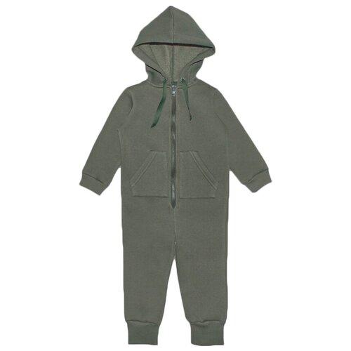 Комбинезон Веселый Малыш 351/140, размер 98, зеленый