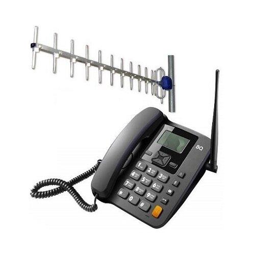 BQ 2410 Point 2 SIM с внешней антенной 17 дБи кабель 15м стационарный сотовый телефон GSM