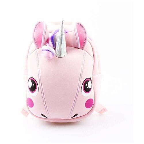 Рюкзаки детские для девочек КОТОФЕЙ 02803142-40 размер выс. 25 см цвет розовый