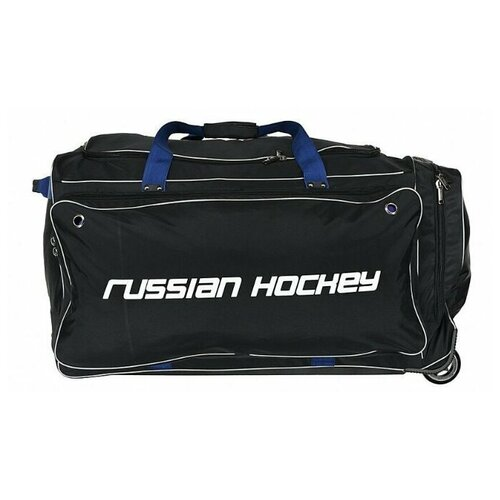 Сумка хоккейная BITEX 24-975/1 баул на колесах черный полиэстер, синий кедер red fox баул на колесах roller duffel 100 4400 янтарь ss17