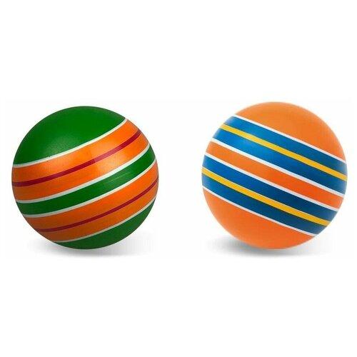 Мяч детский 12, 5 см, серия полосатики, Мячи-Чебоксары, Р3-125/По