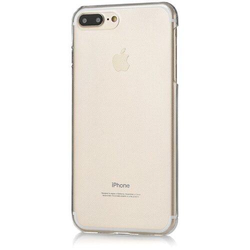 Фото - Чехол-накладка uBear Soft Tone для Apple iPhone 7 Plus /iPhone 8 Plus grey чехол накладка ubear soft tone для apple iphone 6 iphone 6s прозрачный