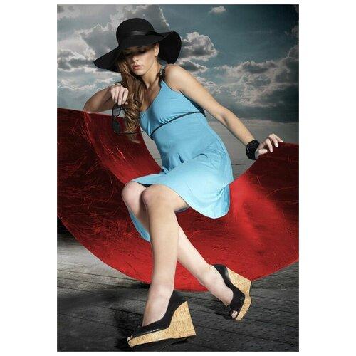 Пляжное платье Miran, размер S, голубой