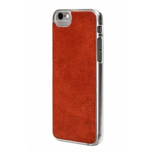 Фото - Чехол-накладка uBear Art Leather для Apple iPhone 6/iPhone 6S red чехол накладка ubear soft tone для apple iphone 6 iphone 6s прозрачный