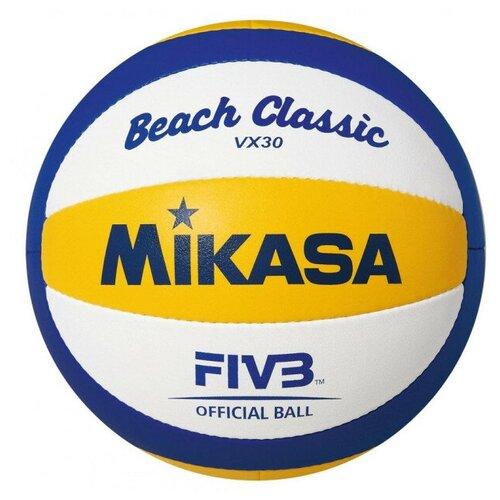 Волейбольный мяч Mikasa VX30 желтый/синий/белый