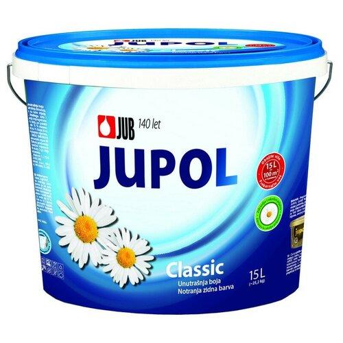 Краска акриловая JUB Classic матовая супербелая 15 л