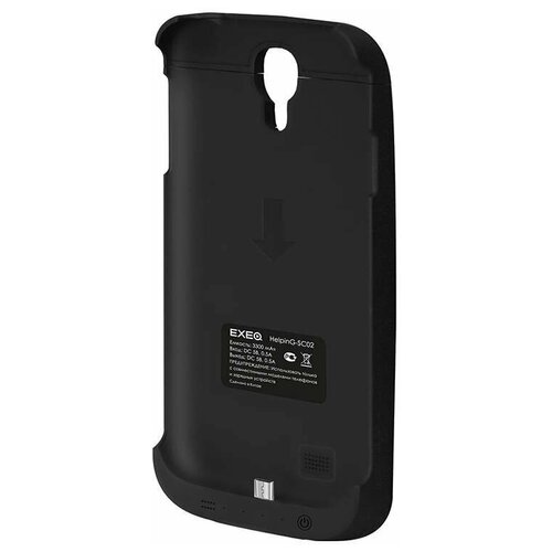 Чехол-аккумулятор для Samsung Galaxy S4 Exeq HelpinG-SC02 (черный)