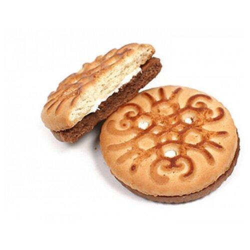 Печенье БЕЛОГОРЬЕ Фифти-фифти с начинкой, 4 кг