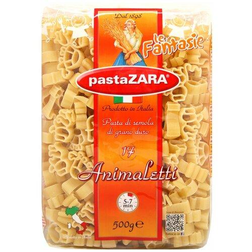 Pasta Zara Макароны le Fantasie 017 Animaletti, 500 г недорого