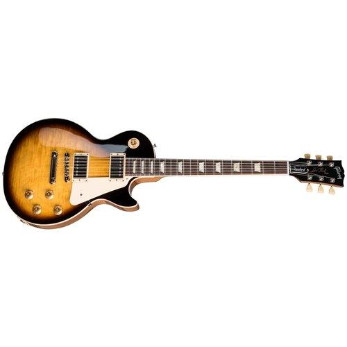 10s custom gf custom 50s flame sunburst aged Электрогитара Gibson Les Paul Standard '50s sunburst tobacco burst