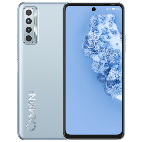 Смартфон TECNO Camon 17P 4/128GB серебристый