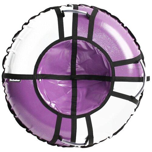 Фото - Тюбинг Hubster Sport Pro 105 см фиолетовый-серый тюбинги hubster люкс pro тундра 90 см