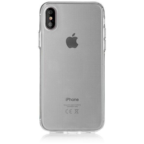 Фото - Чехол-накладка uBear Tone для Apple iPhone X/Xs transparent чехол накладка ubear soft tone для apple iphone 6 iphone 6s прозрачный
