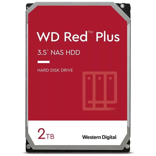 "Внутренний жесткий диск 35"" 2Tb Western Digital (WD20EFZX) 128Mb 5400rpm IntelliPower SATA3 Red"