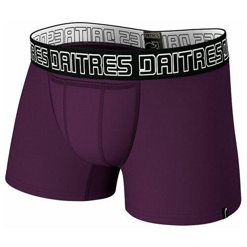 Daitres Трусы боксеры удлиненные с профилированным гульфиком, размер 2XL/54, фиолетовый