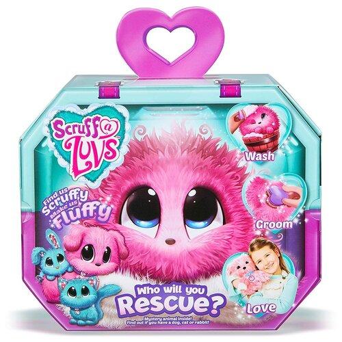 Мягкая игрушка Scruff a Luvs Пушистик-Потеряшка розовый