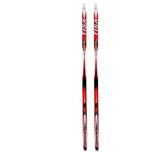 Беговые лыжи Tisa Sport Wax N90912/N90915 без креплений красный/белый 2012-2013 205 см