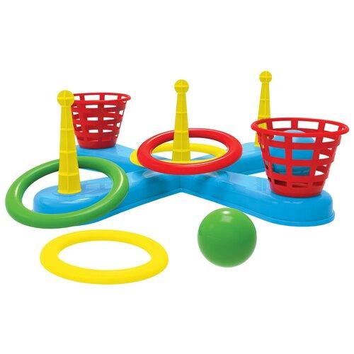 Купить Кольцеброс ТехноК с корзинами и шариками (3411), Спортивные игры и игрушки
