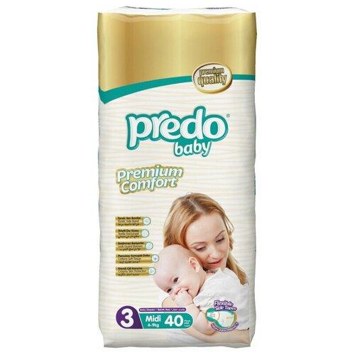 Predo Baby подгузники 3 (4-9 кг), 40 шт.