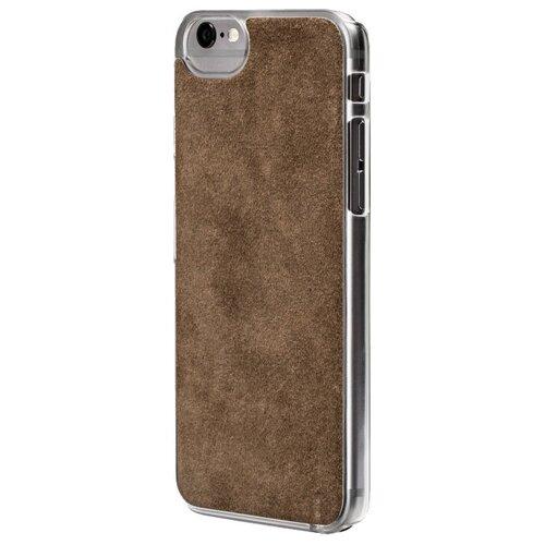 Фото - Чехол-накладка uBear Art Leather для Apple iPhone 6/iPhone 6S grey чехол накладка ubear soft tone для apple iphone 6 iphone 6s прозрачный